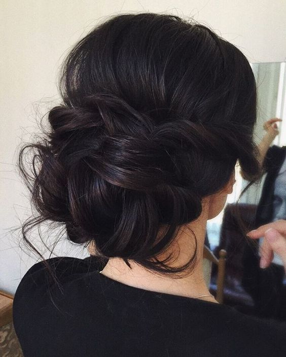 Elegant-black-updo Stunning Hairstyles for Black Hair 2019