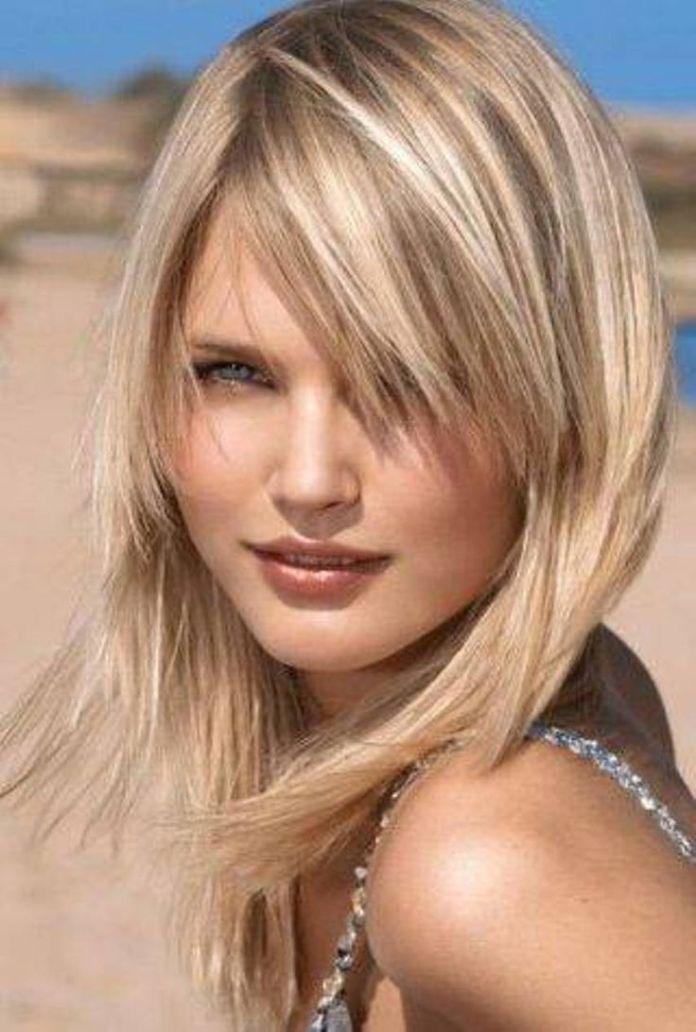 Feminine-Mid-length-Haircut-for-Thin-Hair Fashionable Mid-Length Hairstyles for Fall – Medium Hair Ideas