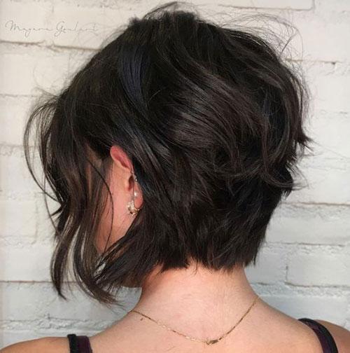 Fine-Hair-Layered-Bob Latest Bob Style Haircuts