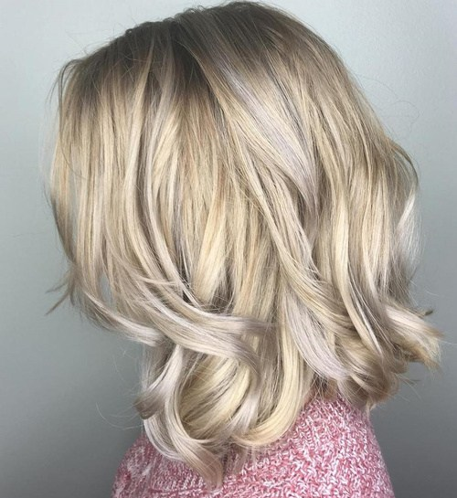 Frosty-Bob-for-winter Best Hair Colors for Winter 2019: Hottest Hair Color Ideas