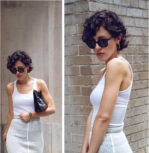 Karla-Deras-Dark-Brown-Pixie-Cut-Curly-Hair Short Curly Pixie Haircuts