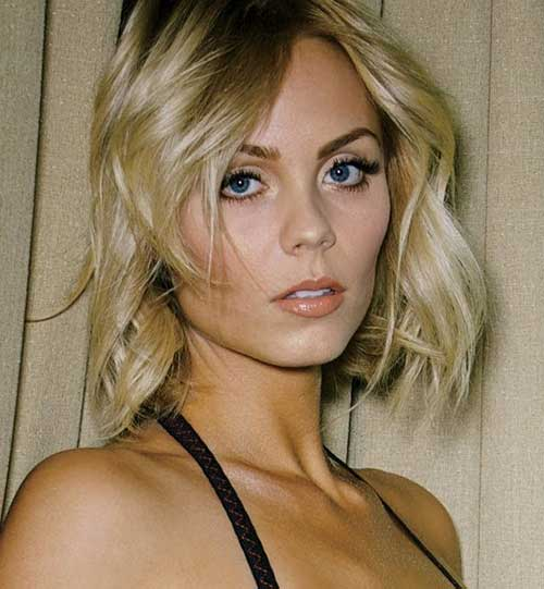 Laura-Vandervoort-Bob-Hair-for-Fine-Hairstyle New Bob Haircuts for Fine Hair
