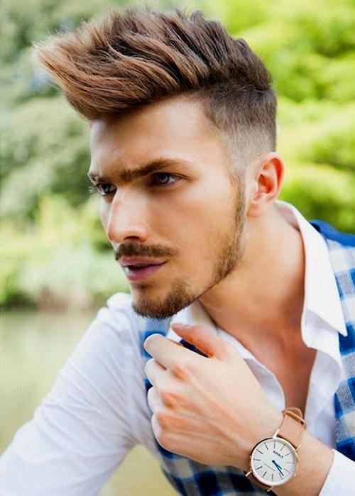 Long-Faux-Hawk Hottest Faux Hawk Hairstyles for Men