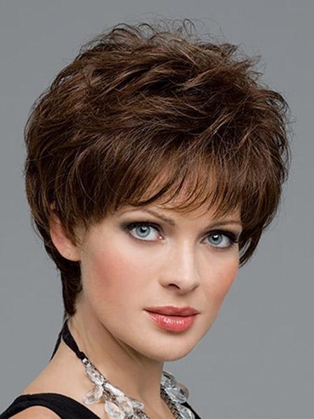 Lovely-Messy-Bob-Cut New Cute Short Haircuts