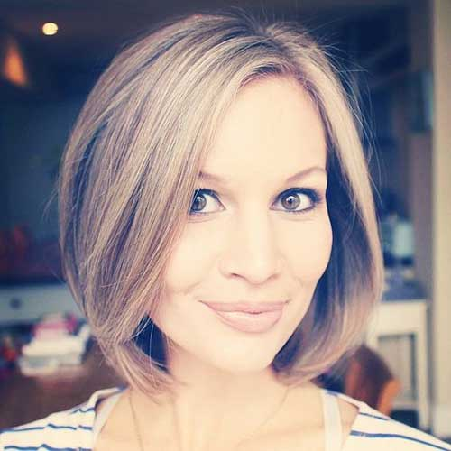 Modern-Long-Bob Short Thin Hairstyles to Easily be Feminine