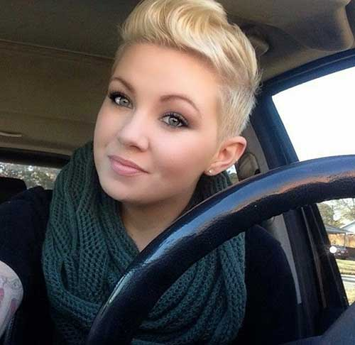 Nice-Blonde-Pixie-Cut-for-Cute-Girls Best Cute Girl Short Haircuts To Help You Out