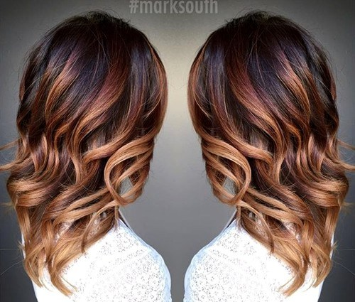 Ombre-Mid-length-Waves New Hairstyles and Hair Color Ideas for Fall