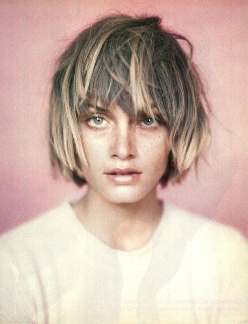 Ombre-short-hair-with-bangs Best Short Hair Color Trends 2019
