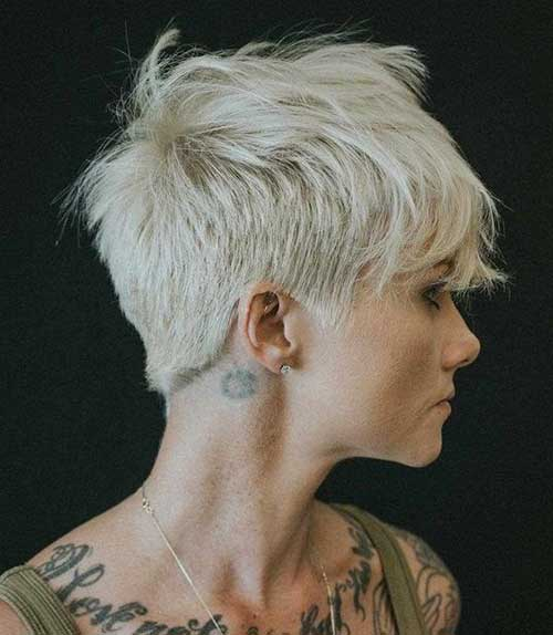 Platinum-Blonde-1 Pixie Hairstyles for the Best View
