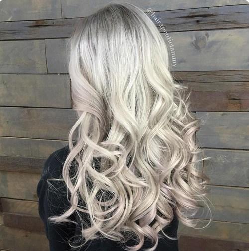Platinum-Blonde Best Hair Colors for Winter 2019: Hottest Hair Color Ideas