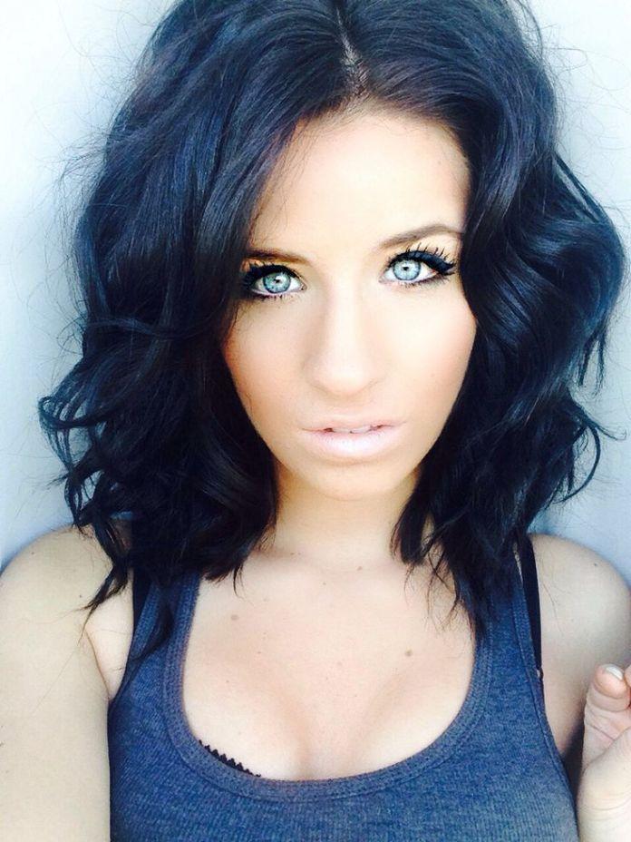 Pretty-Hairstyles-for-Black-Hair-Medium-Curls Stunning Hairstyles for Black Hair 2019