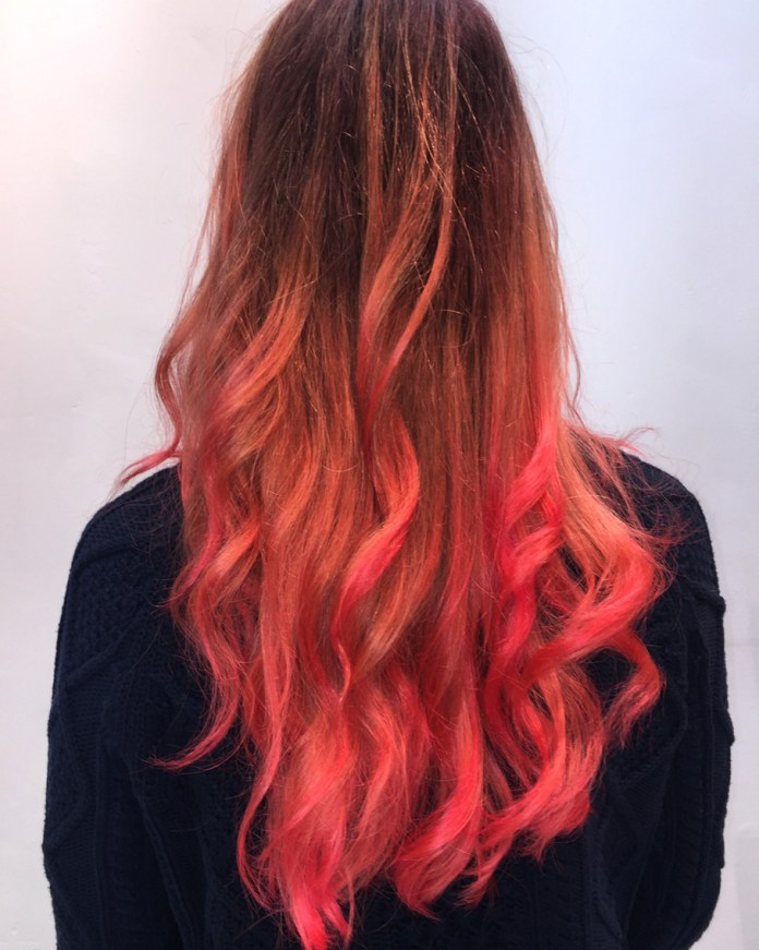 Red-Ombre-Hairstyles-2 Hair Color Trends for 2019: Red Ombre Hairstyles