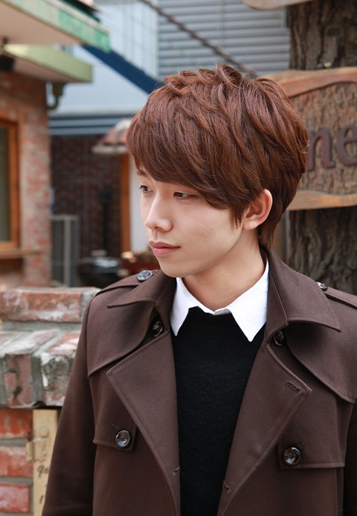 Sexy-Korean-Boys-Hairstyle-–-layered-short-haircut-for-Asian-guys Cool Korean and Japanese Hairstyles for Asian Guys