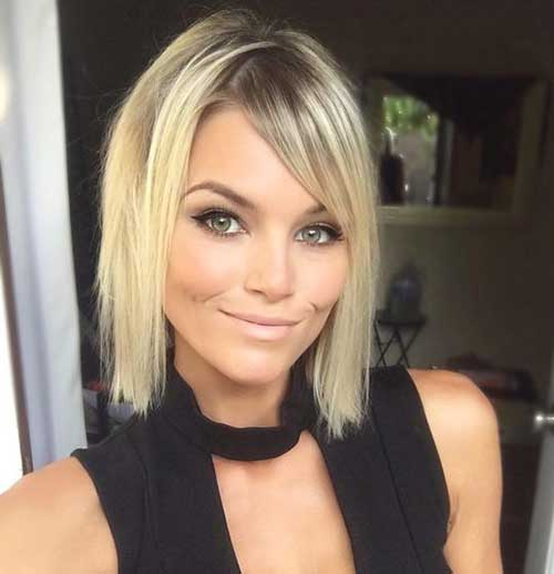 Short-Blonde-Hairstyle-for-Women-with-Thin-Hair Short Thin Hairstyles to Easily be Feminine