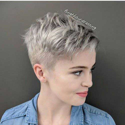 Short-Blonde-Pixie Pixie Hairstyles for the Best View