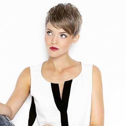 Short-Hair-for-Oval-Face Best Short Hairstyle Ideas for Oval Faces