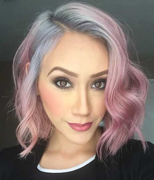 Short-Hairstyle-2019-–-Faces Best Short Hairstyle Ideas for Oval Faces