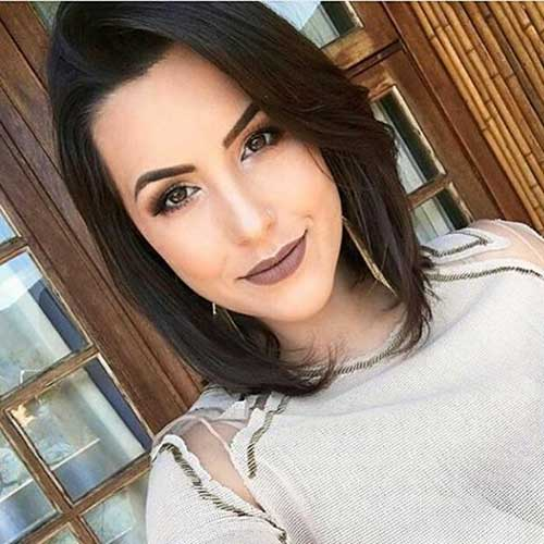 Short-Hairstyle-for-Oval-Face-Shape Best Short Hairstyle Ideas for Oval Faces