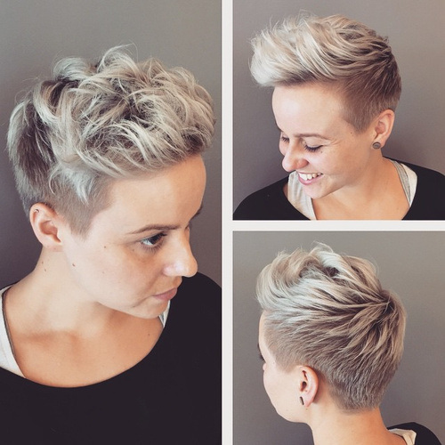 Silver-Pixie Gorgeous Ways to Rock Blonde and Sliver Hair