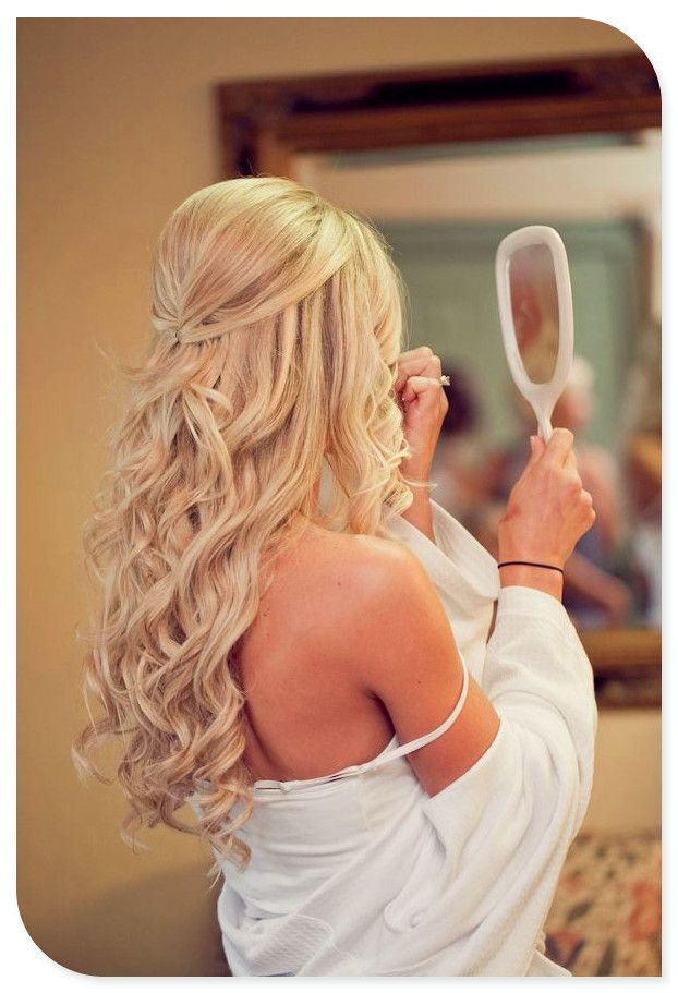 Simple-Pinned-Up-Wedding-Hairstyle Simple But Beautiful Wedding Hairstyles 2019