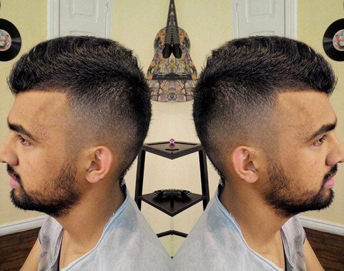Spike-Faux-Hawk-Hairstyle Hottest Faux Hawk Hairstyles for Men