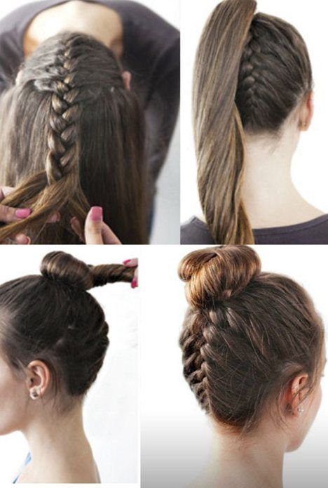 Top-Bun Hair Tutorials to Style Your Hair