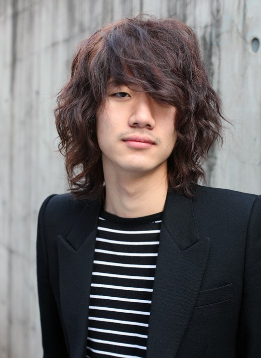 Trendy-long-Korean-hairstyle-for-men Cool Korean and Japanese Hairstyles for Asian Guys