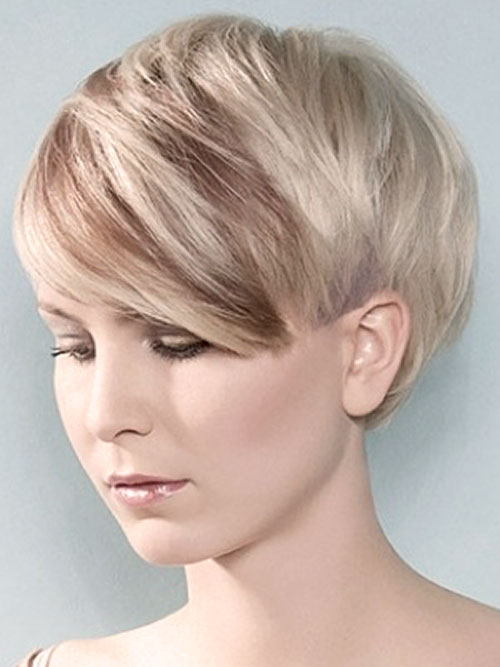 Two-tone-blonde-hair-color-ideas Best Short Hair Color Trends 2019