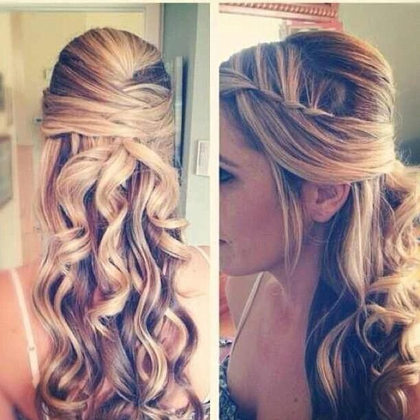 Wedding-Hairstyle-for-Blond-Ombre-Hair Super Charming Wedding Hairstyles for 2019