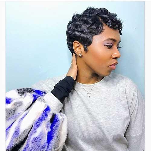 cute-short-black-hairstyles-1 Cute Short Black Haircut Ideas