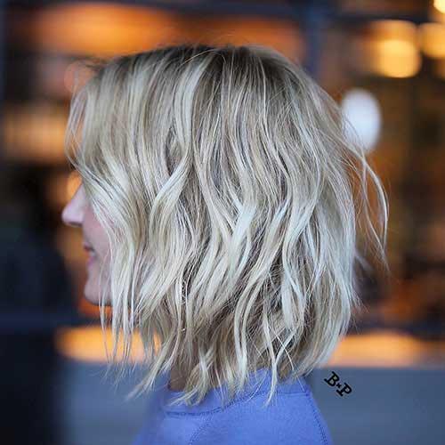short-choppy-layered-bob Popular Short Layered Hairstyle Ideas