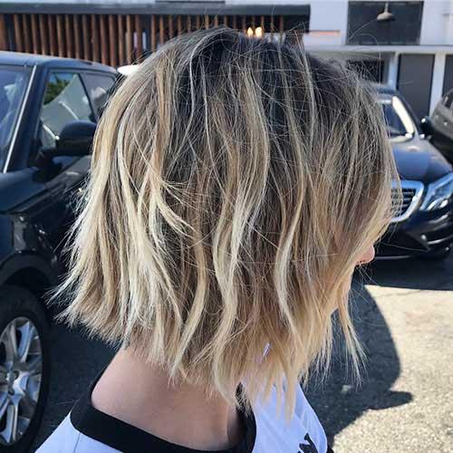 short-choppy-layers Popular Short Layered Hairstyle Ideas