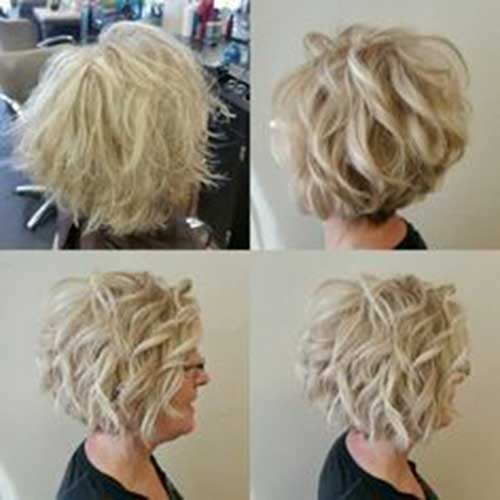 short-curly-hair-for-older-women Best Short Haircuts for Women with Curly Hair