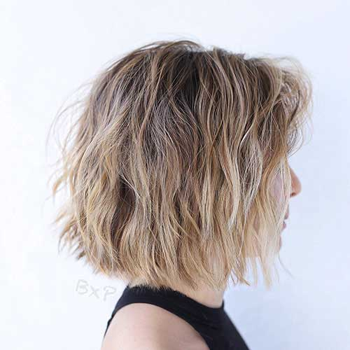 short-layered-bob-for-thin-hair Popular Short Layered Hairstyle Ideas