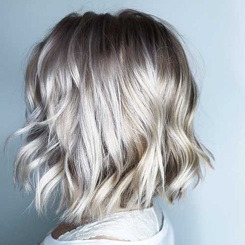 short-layered-bob-haircuts Popular Short Layered Hairstyle Ideas