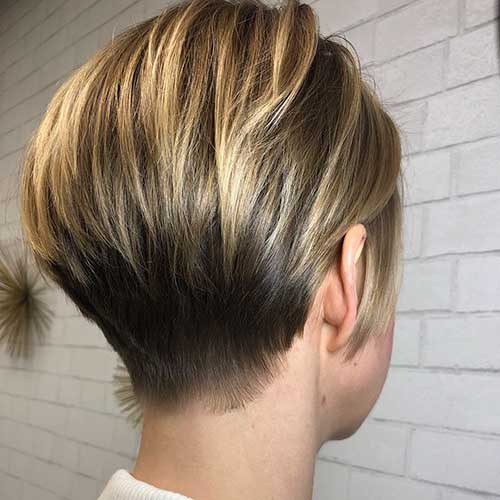 short-layered-hairstyles-for-fine-hair Popular Short Layered Hairstyle Ideas