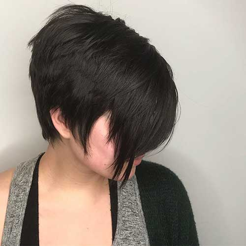 short-layered-hairstyles-for-thick-hair-1 Popular Short Layered Hairstyle Ideas
