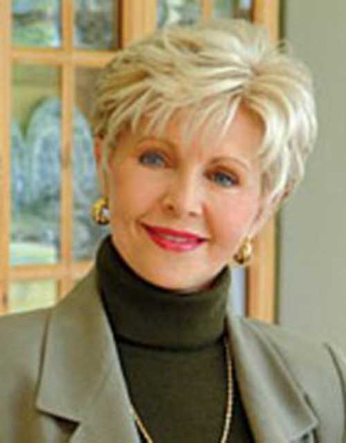 16.Pixie-Haircuts-for-Older-Ladies Cool Pixie Haircut for Older Ladies