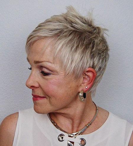 20-Hairtyles-for-Short-Hair-Over-60-576 Short Hairstyles for Fine Hair Over 60