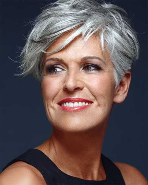 22.Pixie-Haircuts-for-Older-Ladies Cool Pixie Haircut for Older Ladies