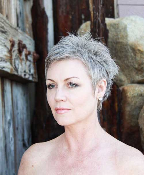 23.Pixie-Haircuts-for-Older-Ladies Cool Pixie Haircut for Older Ladies