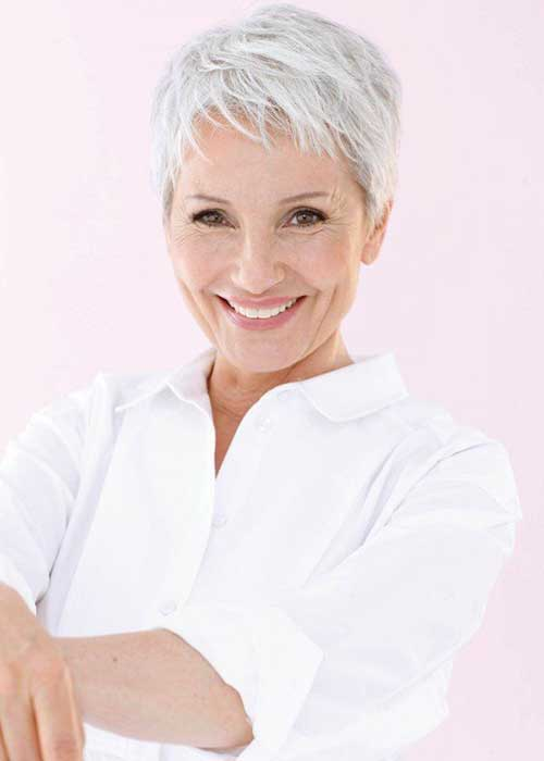 6.Pixie-Haircuts-for-Older-Ladies Cool Pixie Haircut for Older Ladies