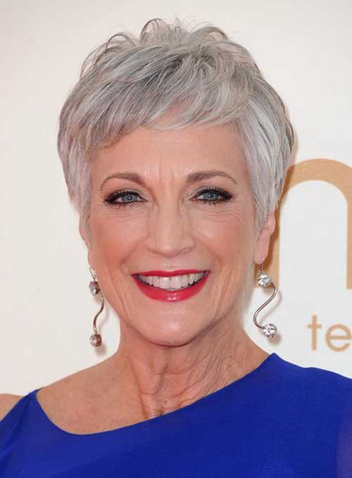 7.Pixie-Haircuts-for-Older-Ladies Cool Pixie Haircut for Older Ladies