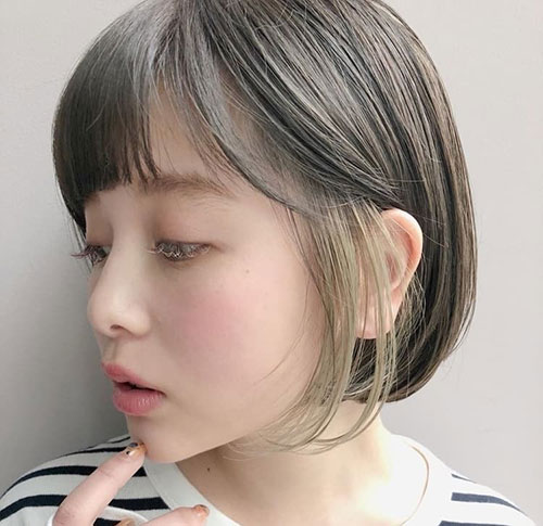 Asian-Short-Hairstyle Cute and Chic Ways to Have Short Hair with Bangs