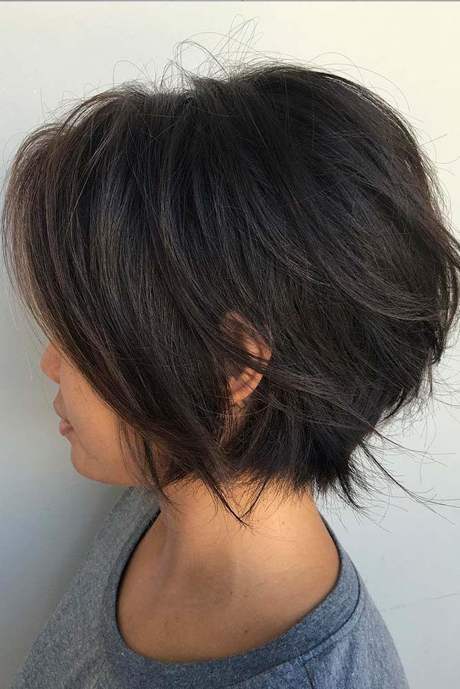 Asymmetrical-Bob Cute Bob Haircuts for Women to Look Charming