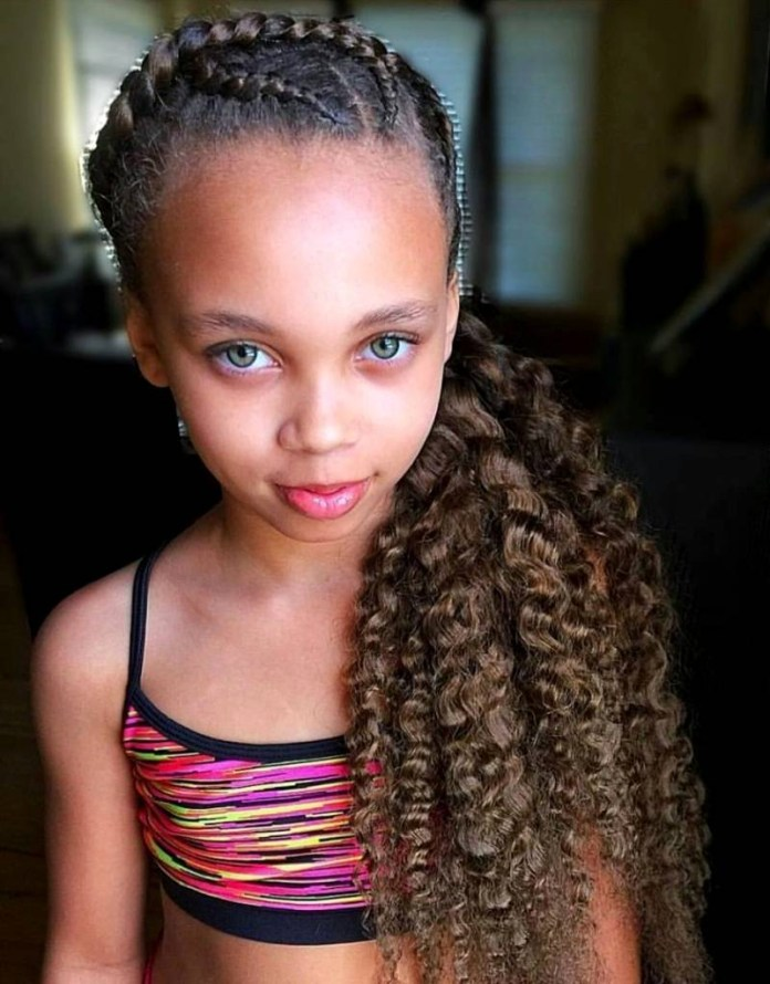 Beach-waves-in-the-Ponytail Cute and Charismatic Black Girl Hairstyles