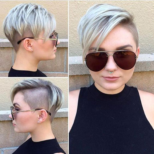 Best-Edgy-Pixie-Cut-for-Round-Faces Short Pixie Cuts for Round Faces
