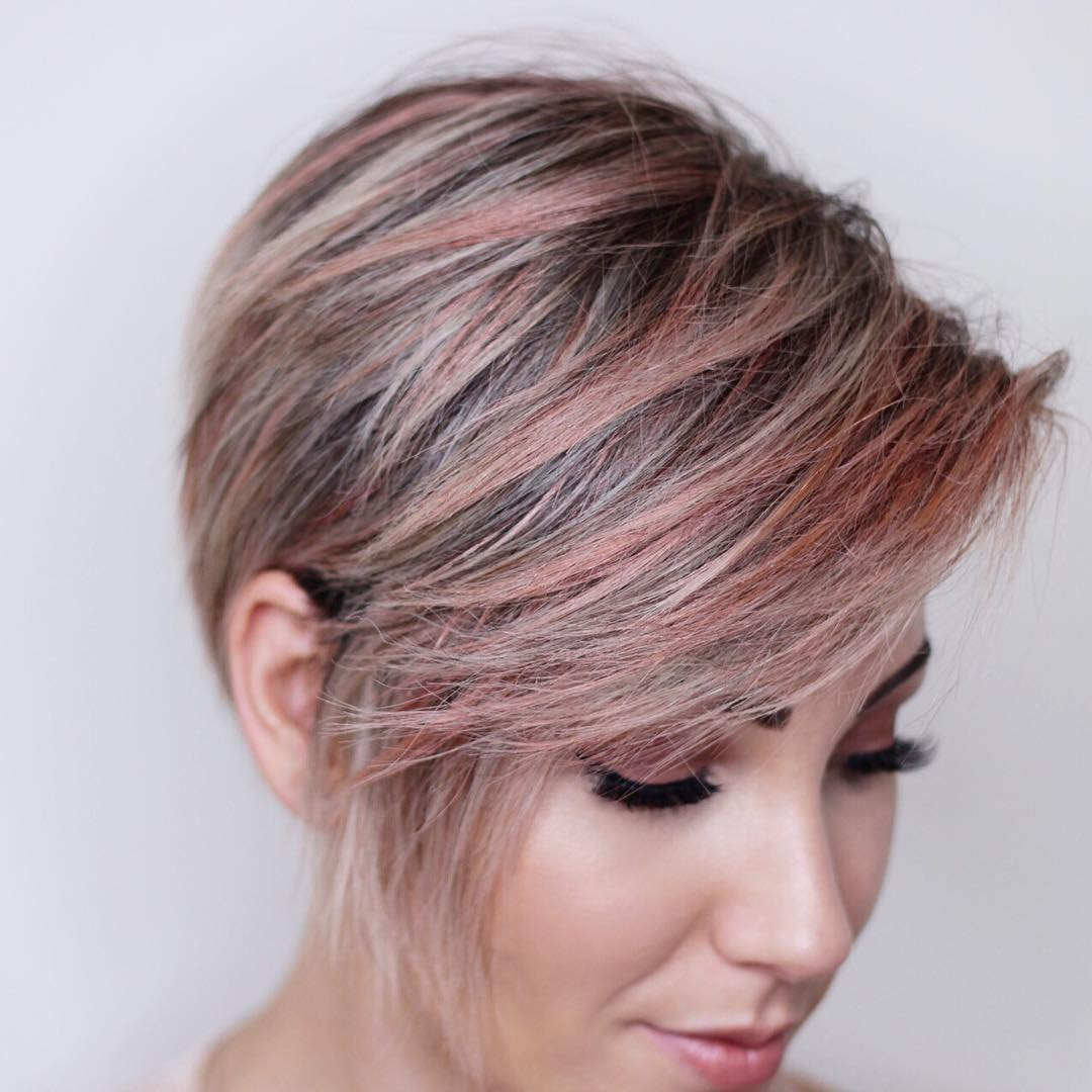 Bob-with-Razored-Layers Cute Bob Haircuts for Women to Look Charming