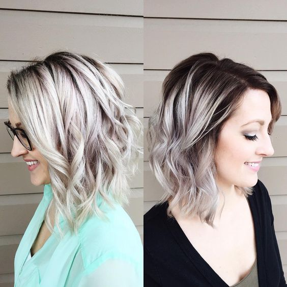 Build-Confidence Ways to Rock Rooty Hair – Trendy Ombre Balayage Hairstyles