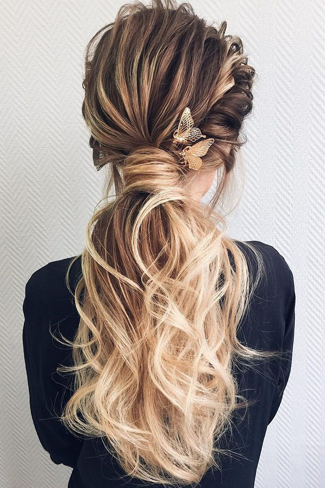 Butterfly-Hairstyle Classy and Charming Hairstyles for Wedding Guest